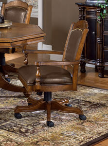 Nassau Game Chair (Brown Finish) - [6060-801]