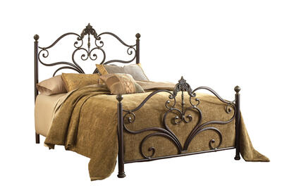 Newton Headboard (Antique Brown Highlight Finish)