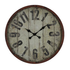 Oleshia Clock (Aged Red with Black) - 24