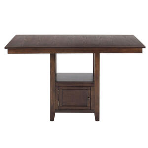 Olsen Oak Casual Counter Height Rectangle Table - [439-60B+439-60T]