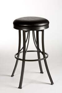 Ontario Backless Counter Stool (Pewter Finish) - [5149-826]