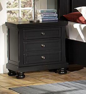 Reflections Night Stand (Ebony Finish) - [534-226]