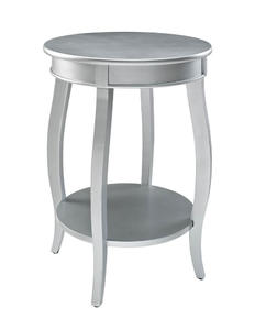 Round Shelf Table (Silver) - [145-350]