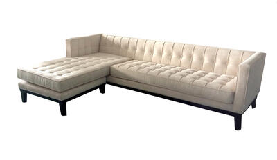 Roxbury Sectional Sofa (Cream) - [LC10103CHAISECR]