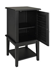 Shutter Door Table (Black) - [271-352]