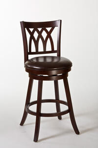 Tateswood Swivel Bar Stool (Cherry Finish) - [5208-830]