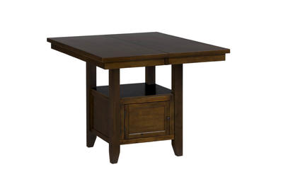 Taylor Brown Cherry Double Header Storage Counter Table - [337-54B+337-54T]