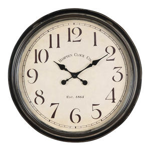 Whitley Clock (Aged Black) - 25