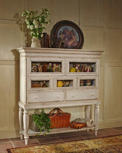 Wilshire Sideboard Cabinet (Antique White Finish) - [4508-855]